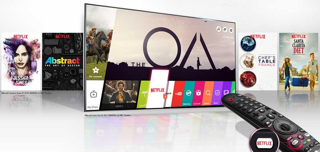 تلوزیون هوشمند الجی به همراه سیستمعامل تحت وب